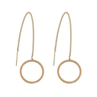 Earrings Stainless Steel Circle