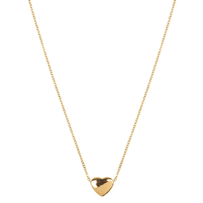 Necklace Stainless Steel Heart