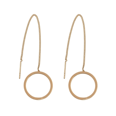 Earrings Stainless Steel Circle