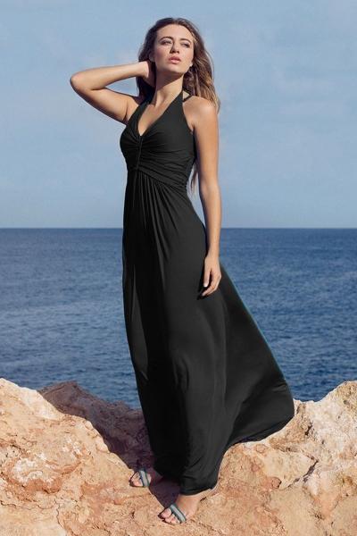Halter dress Natural