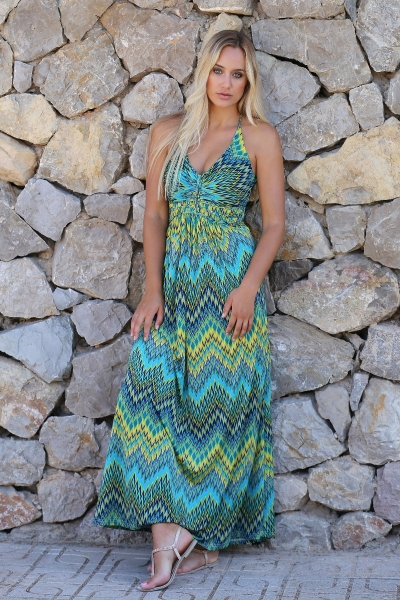 Halter dress Nixi